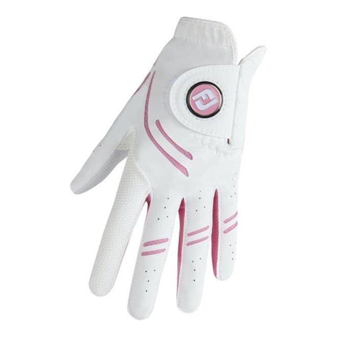 Footjoy GTxtreme Dames Golfhandschoen Wit/Roze