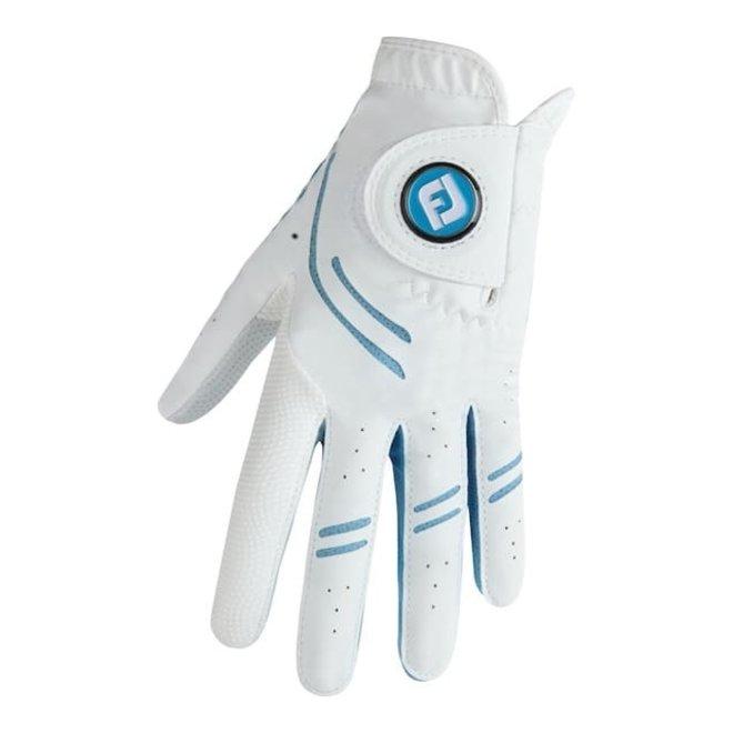 Footjoy GTxtreme Dames Golfhandschoen Wit/Blauw