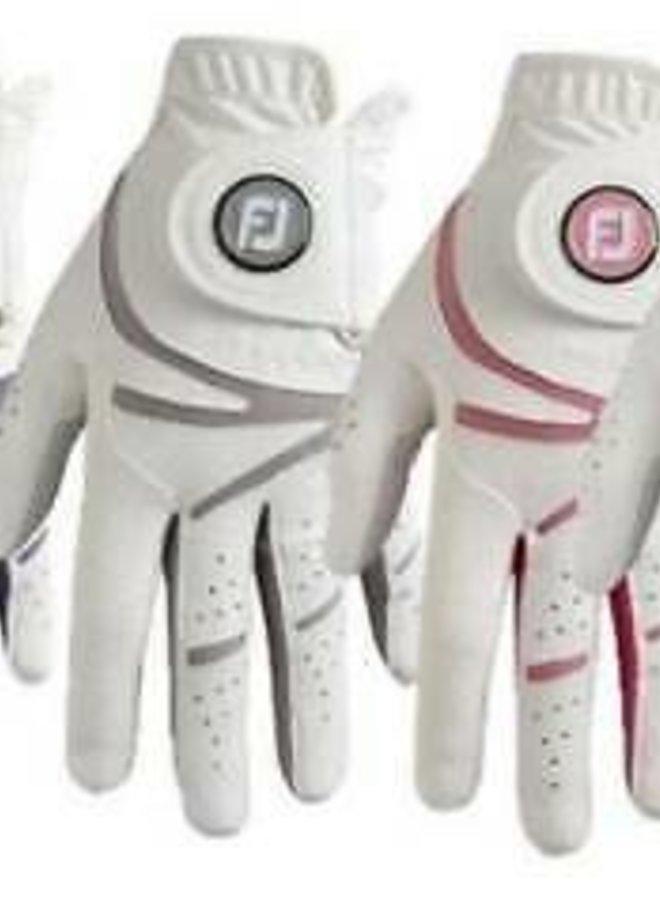 Footjoy GTxtreme Dames Golfhandschoen Wit/Grijs