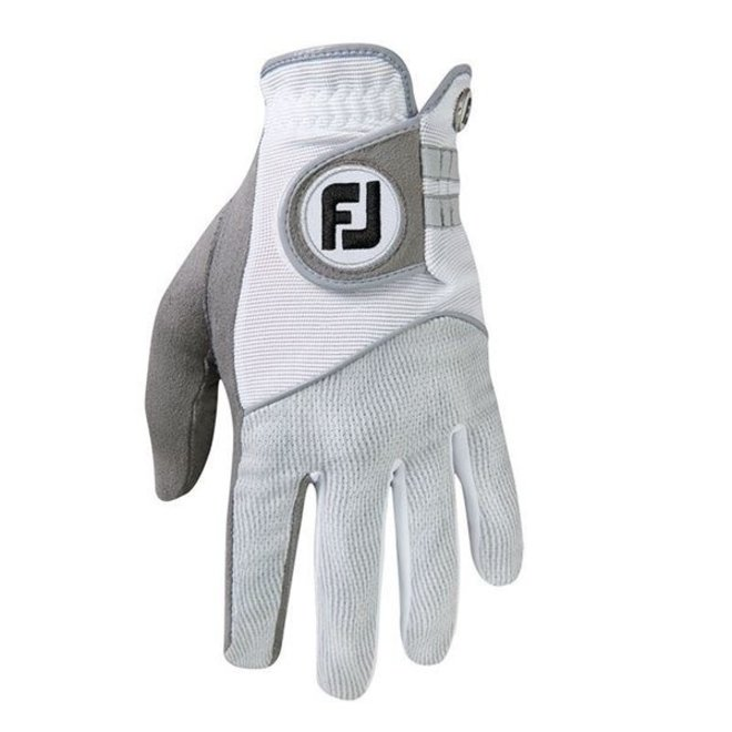 Footjoy Raingrip Heren Golfhandschoen Wit