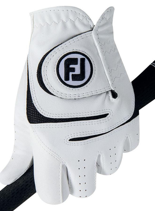 Footjoy Weathersoft Heren Golfhandschoen Wit