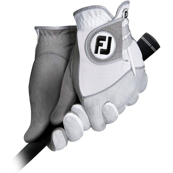 Footjoy Raingrip Dames Golfhandschoen Grijs/Wit