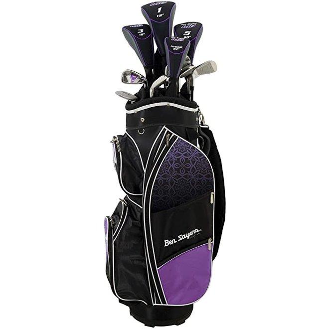 Ben sayers Dames Set M8 Purple/Black