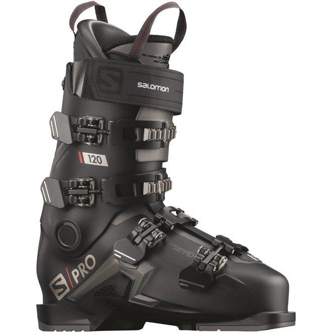 Salomon Skischoenen S/PRO 120 Zwart/Belluga/Rood