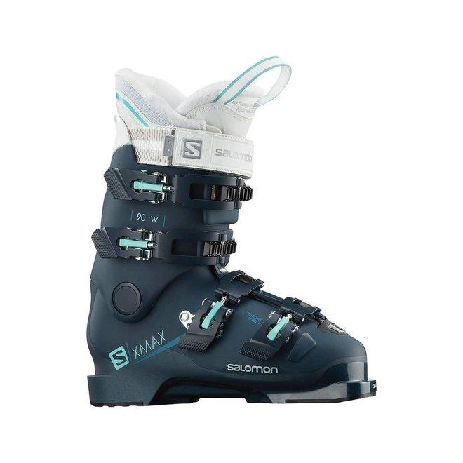 Salomon Dames X Max 90 Petrol Skischoenen