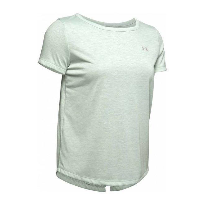 Under Armour Dames Whisperlight Shirt Atlas Green
