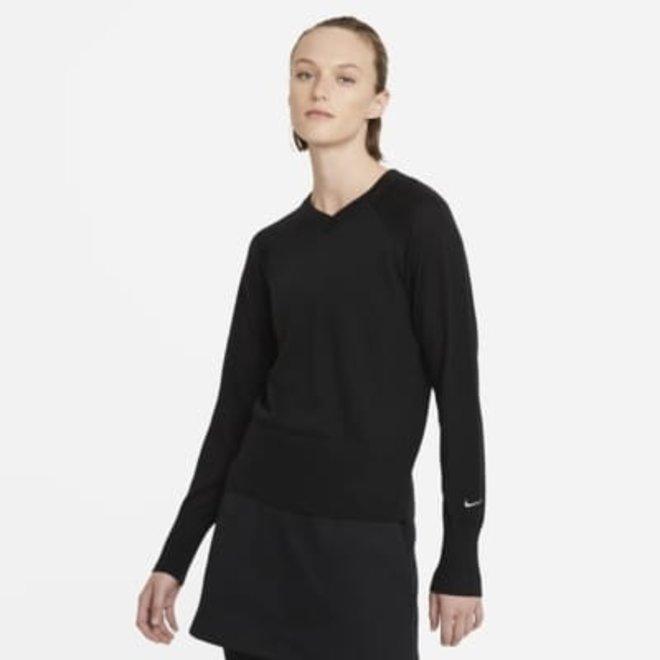 Nike Dames Sweater V-Hals Zwart
