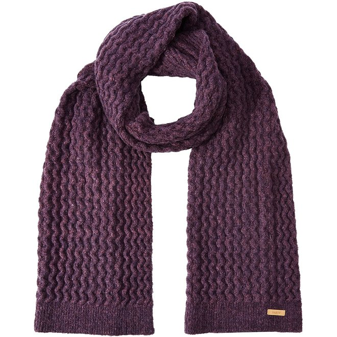 Barts Cable Scarf Kids Paars
