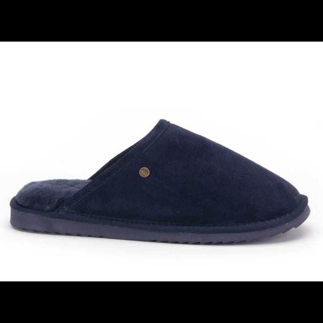 Classic Heren Pantoffels Donkerblauw