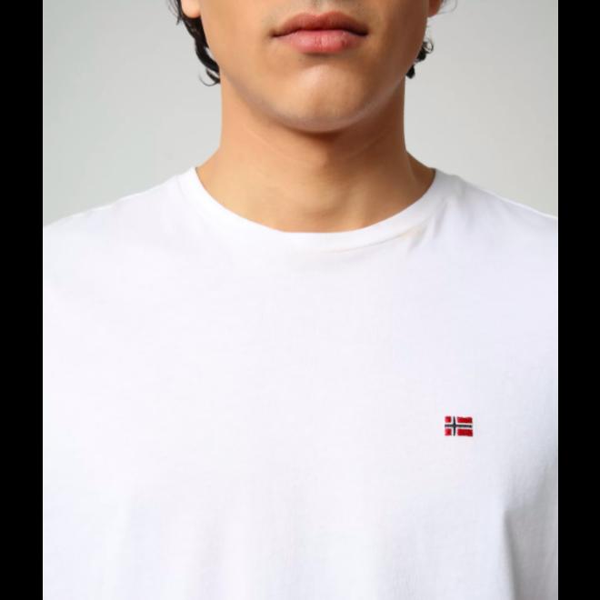 Heren Salis T-shirt Wit