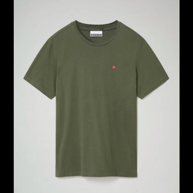 Heren Salis T-shirt Donkergroen