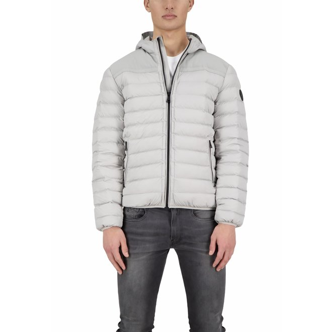 Heren Hooded Padded Jacket