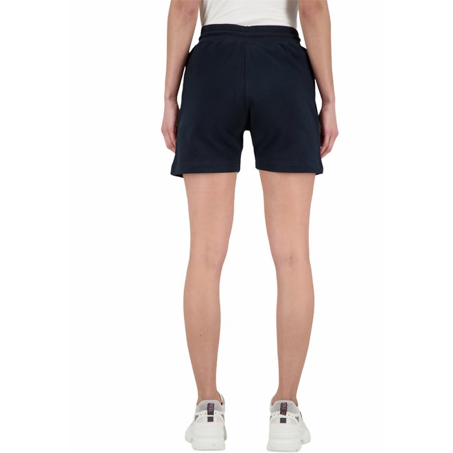 Dames Short Sweat Pants Dark Navy Blue