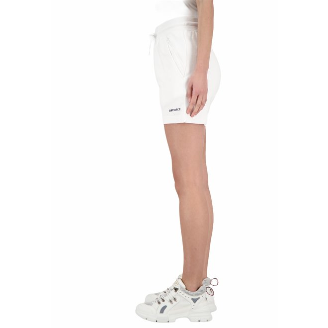 Dames Short Sweat Pants White