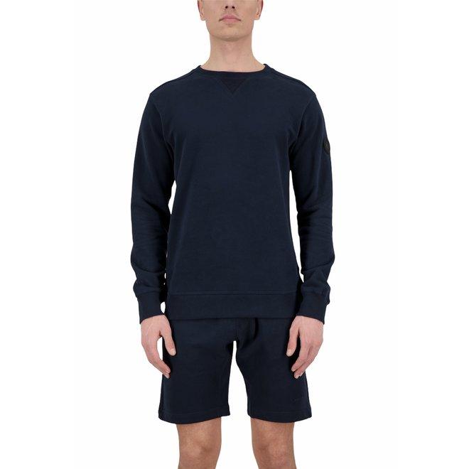 Heren Sweater Dark Navy Blue