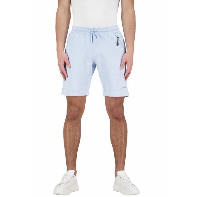 Heren Short Sweat Pants Skyway Blue