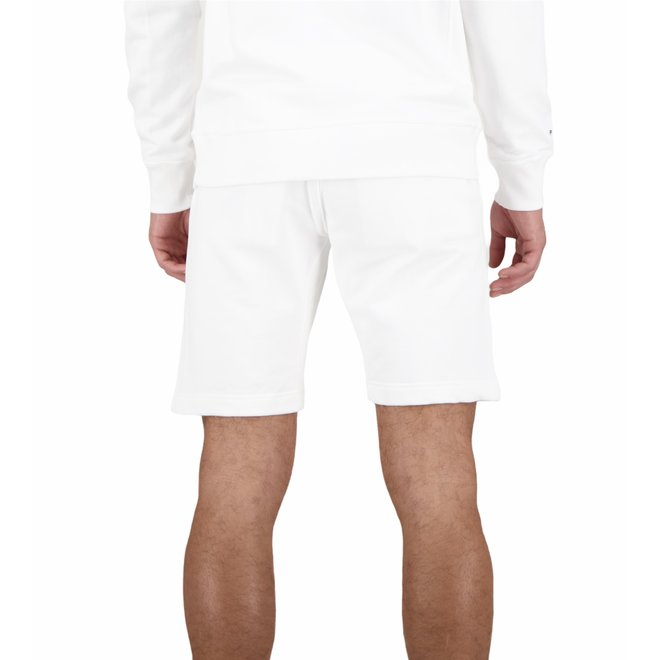 Heren Short Sweat Pants White