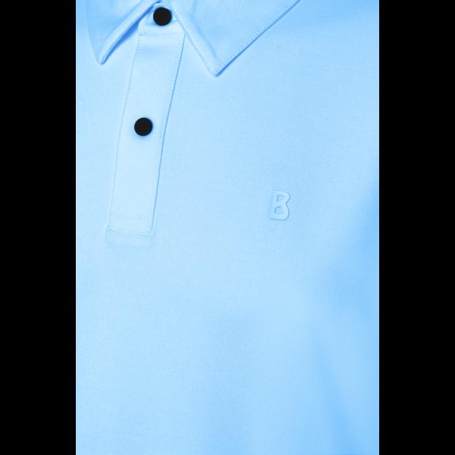 Timo5-S Heren Polo Licht Blauw