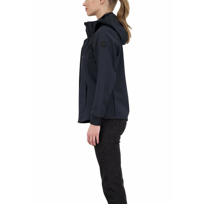 Dames Softshell Jacket Dark Navy Blue