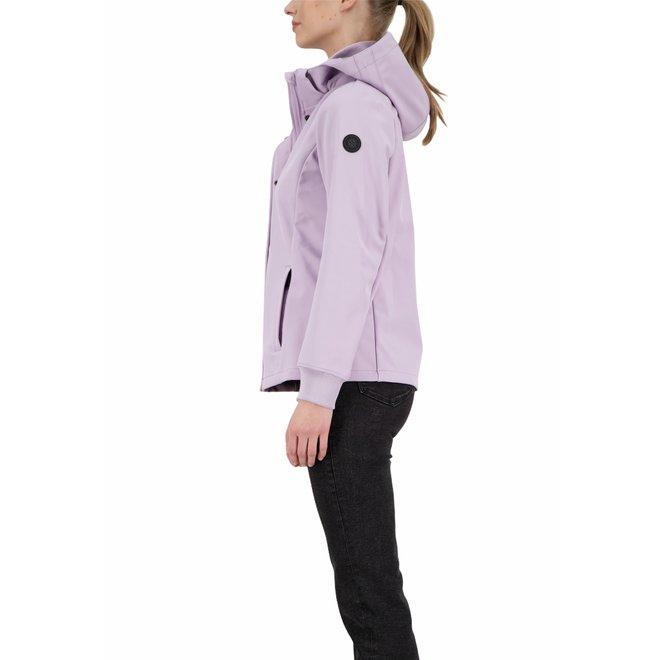 Dames Softshell Jacket Lavender Frost