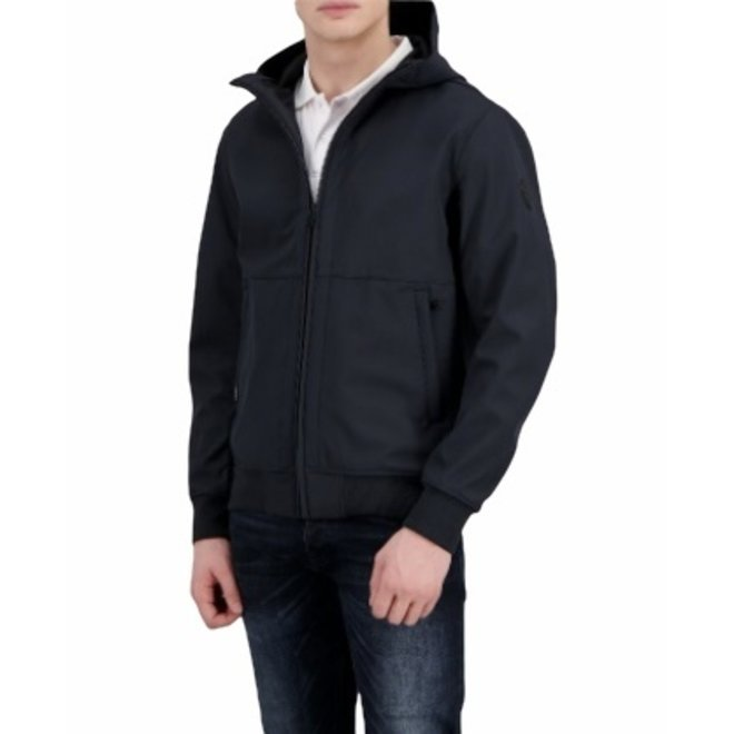 Heren Softshel Jacket Dark Navy Blue