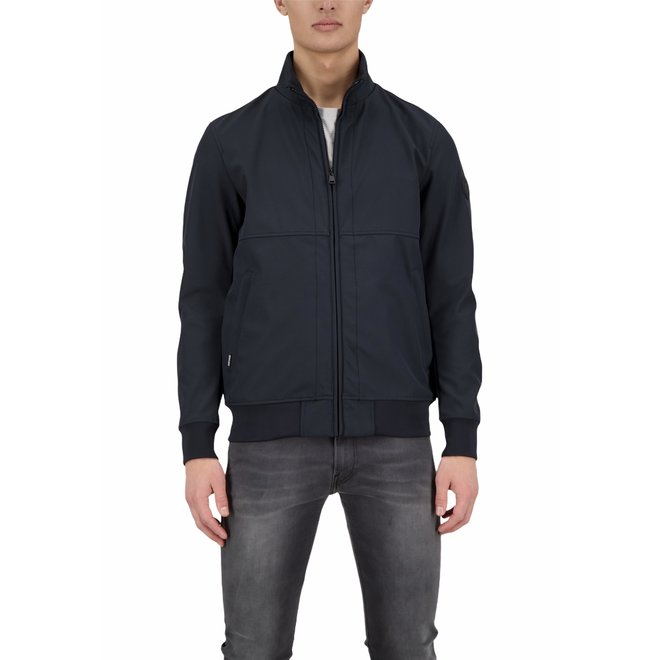 Heren Softshell Jacket Dark Navy Blue