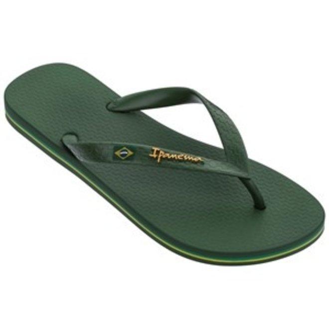 Classic Brasil Heren Slippers Groen/Groen