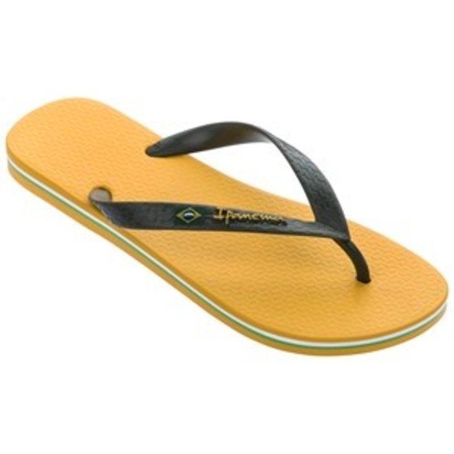 Classic Brasil Heren Slippers Geel/Groen