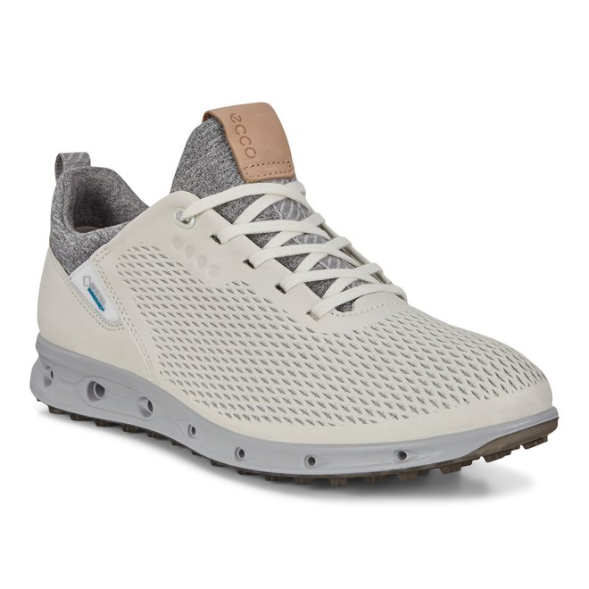 Ecco Dames Golf Cool Pro White Racer Yak Wit
