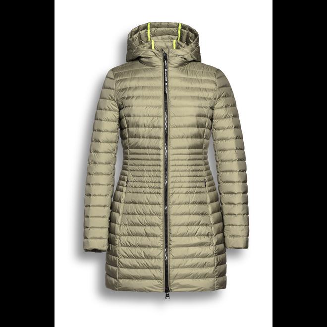 Hooded Long Dames Down Jacket
