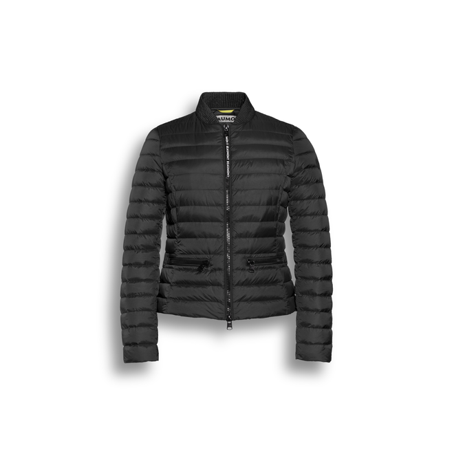 Beaumont Cropped Down Jacket Black