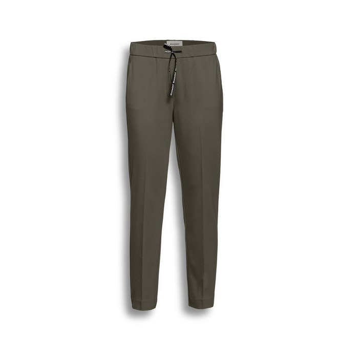 Double Jersey Dames Chino Forest