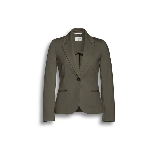 Beaumont Double Jersey Dames Blazer Olive Green