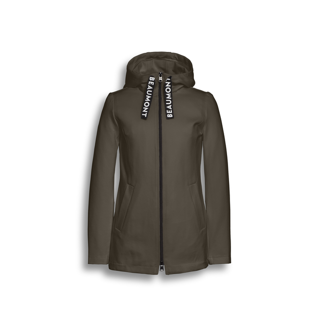 Beaumont Double Jersey Dames Hoody Forest Green