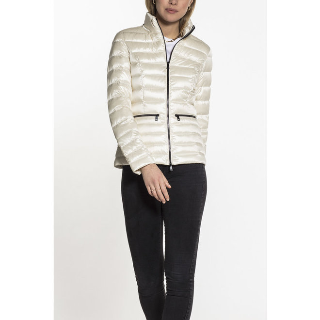 Beaumont Cropped Down Jacket Offwhite