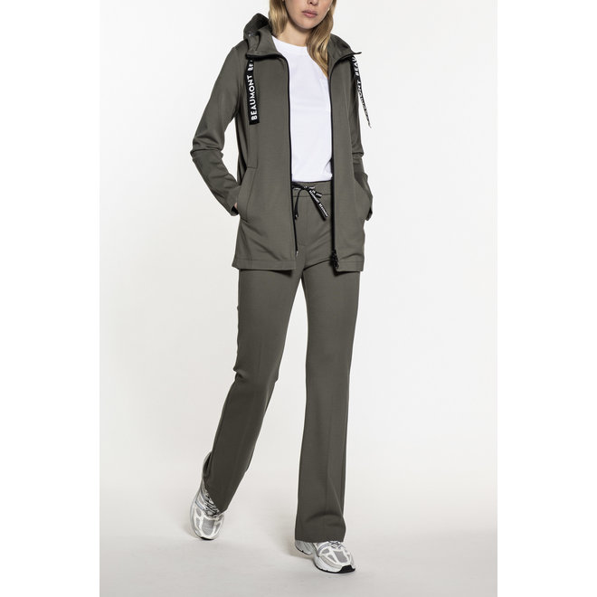 Beaumont Double Jersey Dames Hoody Off white