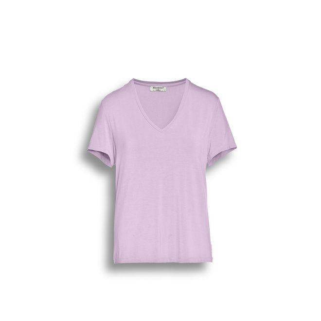 Beaumont Viscose Jersey Dames T-shirt V-neck