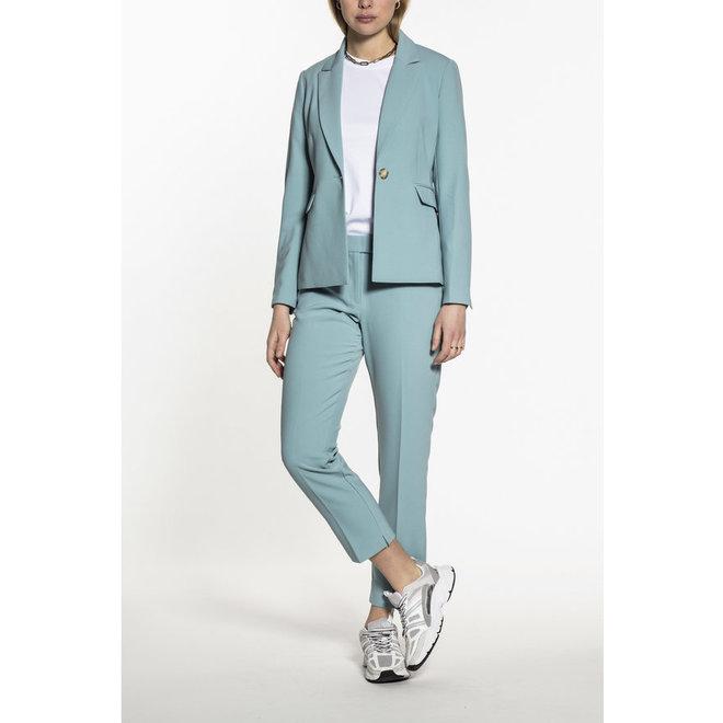 Beaumont Slim Fit Dames Trousers Sky