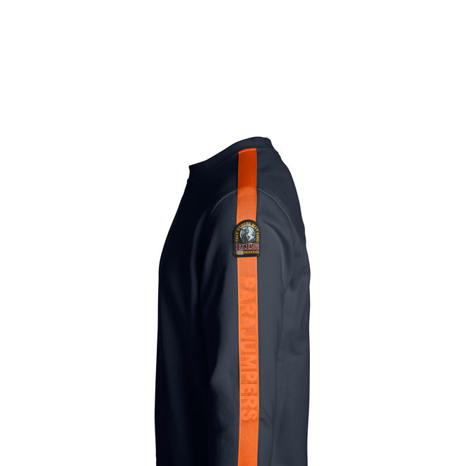 Armstrong Heren Trui Blauw/Oranje