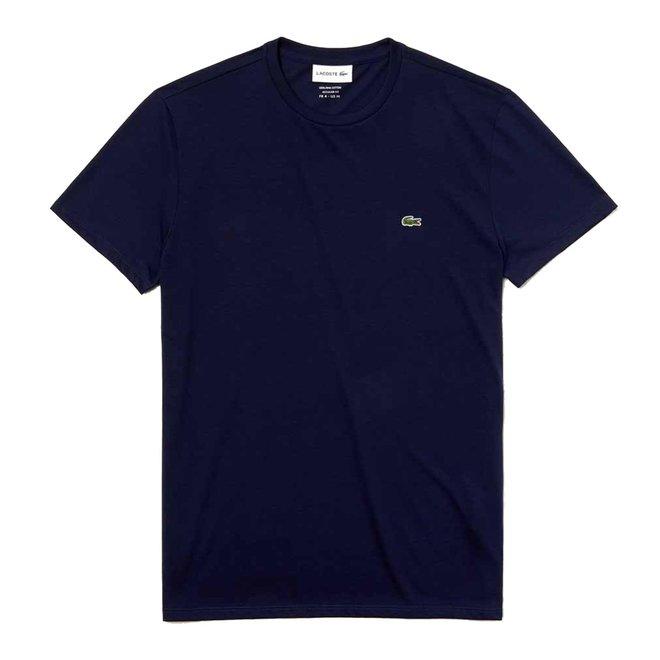 Lacoste Heren T-shirt 011 Donkerblauw