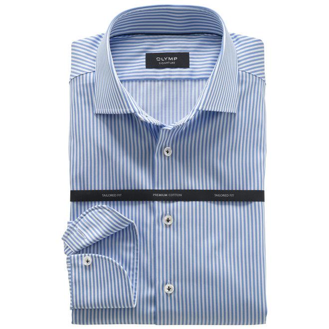 Savio Signature Tailored Fit Lichtblauw