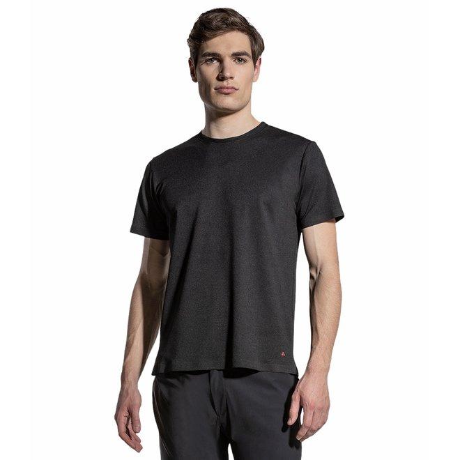 Fred Tech Heren T-shirt Zwart