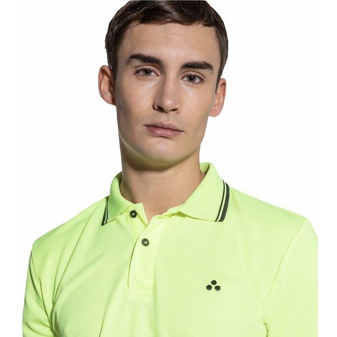 Beni Heren Polo Neon Geel