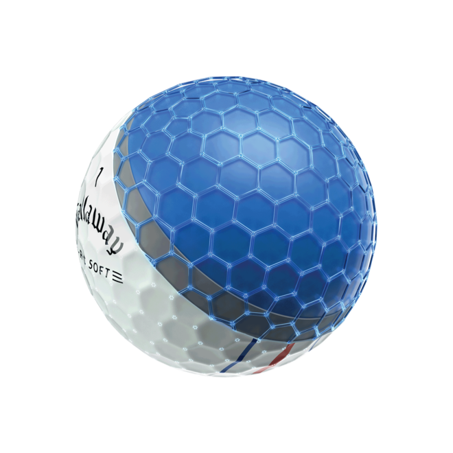 Callaway E.R.C Soft Triple Track Golfballen