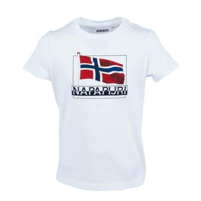 Napapijri Jongens Seji T-shirt White