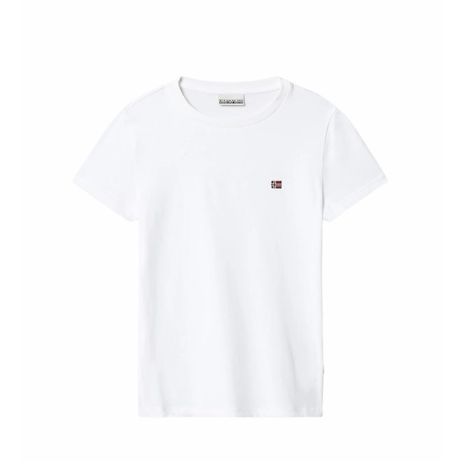 Napapijri Jongens Salis T-shirt White