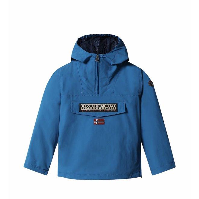 Kids Rainforest Summer Jacket Mykonos Blue
