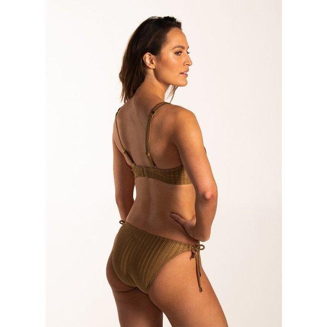 Bikini Foam + Wired Dull Gold