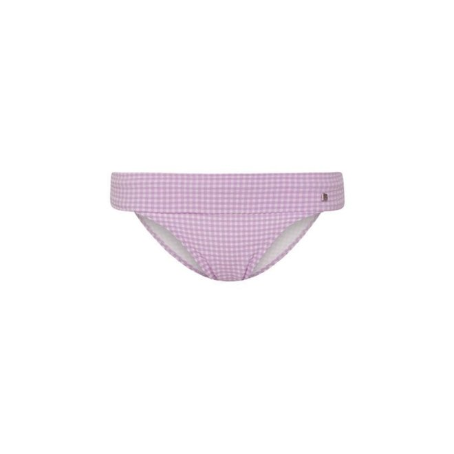 Beachlife Slip High Lilac Check