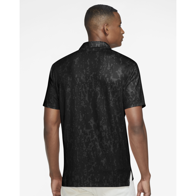 Men Dry Fit Vapor Polo Black